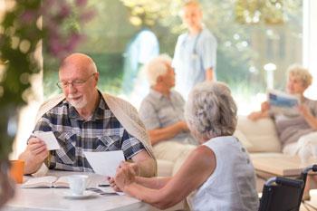 Seniors at a Retirement Residence
